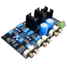 Preamplifier Two Divider Plate Can Change Frequency Divider Point Adjustment
