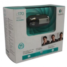 New Logitech Webcam C170 5MP Photo Video USB Web Camera 1024 x 768 PC/MAC