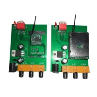 2.4G Wireless Video Audio Transmitter Module 300-500M Stereo Assembled Board for FPV Photography