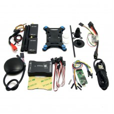 New Mini APM PRO Flight Control with Ublox Neo-6M GPS & V2 433Mhz Telemetry & Mini OSD for FPV Multicopter Aircraft