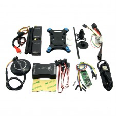 New Mini APM PRO Flight Control with M8N GPS & V2 433Mhz Telemetry & Mini OSD for FPV Multicopter Aircraft