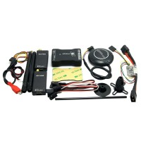 New Mini APM PRO Flight Control with M8N GPS & V2 433Mhz Telemetry & Power Module for FPV Multicopter Aircraft