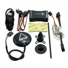 New Mini APM PRO Flight Control with Ulbox Neo-7N GPS & Power Module & Data Cable for FPV Multicopter Aircraft