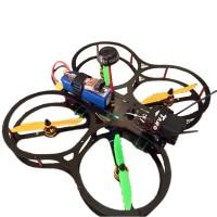 H250 Q4 Mini Quadcopter QAV280 Glass Fiber Frame with Propeller Guard for FPV