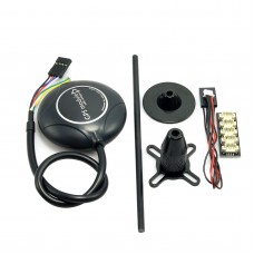 Ublox NEO-M8N Flight Control GPS Accuracy 1M with Folding Holder & I2C Splitter Module for Mini Pixhawk