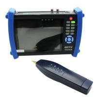 "7"" CCTV Security Camera Tester Monitor Analog HDMI VGA Cable Scan HVT-3600 Zoom"