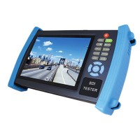 "7"" CCTV Security Camera Tester Monitor HD SDI Analog 12V2A VGA HVT-3600S"