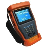 "3.5"" LCD CCTV PTZ Camera Optical Power Cable Tester ST896 12V Output"