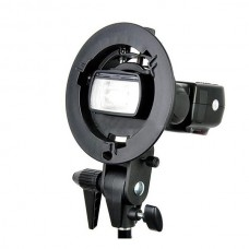 Godox S-Type Bracket Bowen Bowens Mount Holder for Speedlite