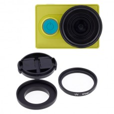37mm Xiaoyi Sports Camera UV Lens Filter Protection Lens for Underwater Photography