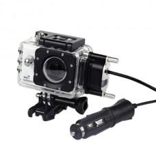 SJCAM SJ5000+ Waterproof Case + WIFI Waterproof Car Charger Cable Combo