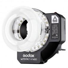 Godox Witstro AR400 400W Li-ion Battery Ring Flash Speedlite LED Video Light