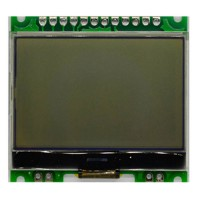 1PCS Zigbee Development Board 12864 LCD Display SPI CC2530 Drive