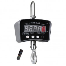 OCS-M1 100KG Portable Scale (LCD) Aluminum Case w/ 30mm LCD Display