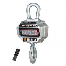 OCS-T 5T Economical Crane Scale Aluminum Case w/ LCD Display