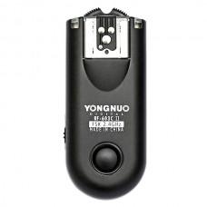 Yongnuo RF-603II RF-603 II Flash Trigger for Nikon D5100 D3100 D3000 D600 D90