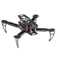 KK260 Plastic QAV Quadcopter Frame Only for FPV Photography w/ Expand Board + LED + BEC