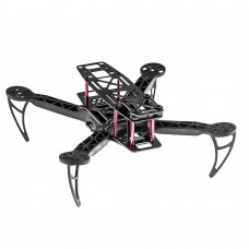 KK260 Plastic QAV Quadcopter Frame Only for FPV Photography w/ Expand Board + LED + BEC