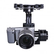 IFLIGHT Upgraded 3-axis CNC Aerial Gimbal for SONY 5N RX-100 BMPCC Camera