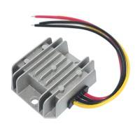 WaterProof (12V/24V to 5V) 10A 50W DC/DC Step-DOWN Power Converter Regulator
