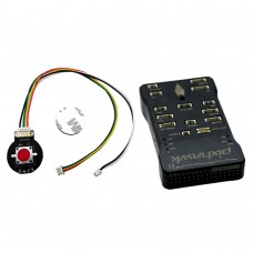 Pixraptor Flight Controller Speed Control Gyroscope with Buzzer Safe Switch PPM Encoder for RC