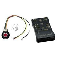 Pixraptor Flight Controller with NEO-M8N GPS Buzzer Safe Switch PPM Encoder 4G Kingston TF Card for RC