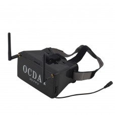 OCDAY 250 FPV Transmitter Dual Receiver 3D Video Glasses for Multicopter FPV Photography