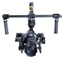 F330 3 Axis Handheld Brushless Gimbal Stabilizer Frame Kits + Motor + 8Bit Control Board for 5D GH3 GH4 DSLR Camera
