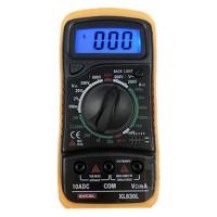 XL830L LCD Digital Voltmeter Ohmmeter Ammeter OHM Multimeter Tester