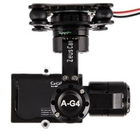 ZeusCam A-G4 GoPro Hero 4 360° Brushless Gimbal for Multicopter FPV Photography