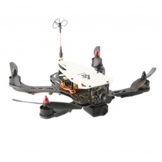 LS-250 Cicada FPV 4-Axis Carbon Fiber Folding Quadcopter Frame Kit