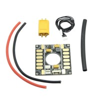 APM2.5 2.6 2.8 pixhawk Current Meter BEC Power Supply Module Distribution Board 3 in 1 for Multicopter Flight Control