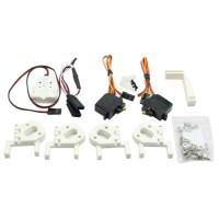 HML350 FPV Landing Skid Gear Electronic Retractable Landing Skid for DJI Phantom1 & 2 Quadcopter