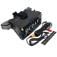 OCDAY 5 inch Display FPV Video Glasses 3D Goggles Dual 5.8G 32CH Receiver for Aerial Photography