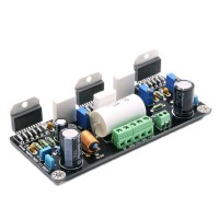 LM3886 X 3 Parallel Connection 150W Pure DC Single Channel Amplifier Board