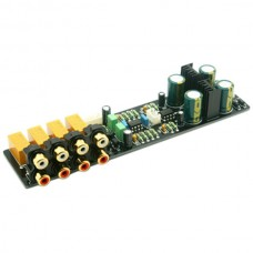 4 Channel Audio Choice Preamplifier Audio Amplifying Assembled Board