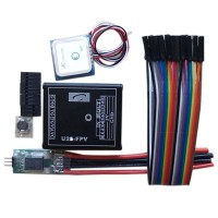 GPS + Current Meter + U2S++ for Quadcopter Multicopter FPV Photography