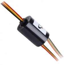 Micro Electronic Conductor Slipring High Speed 6 Core External Dia 22mm