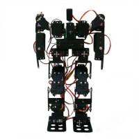17DOF Biped Robotic Educational Robot Kit Servo Bracket Ball Bearing with MG996R Servos & Controller
