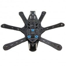 Mini Pest RD230 Hexacopter Carbon Fiber Aircraft Frame Kit 230mm UAV Drone for FPV