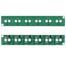 6 String 2.5V 700F Super Capacitor Protection Boards Balancing Board