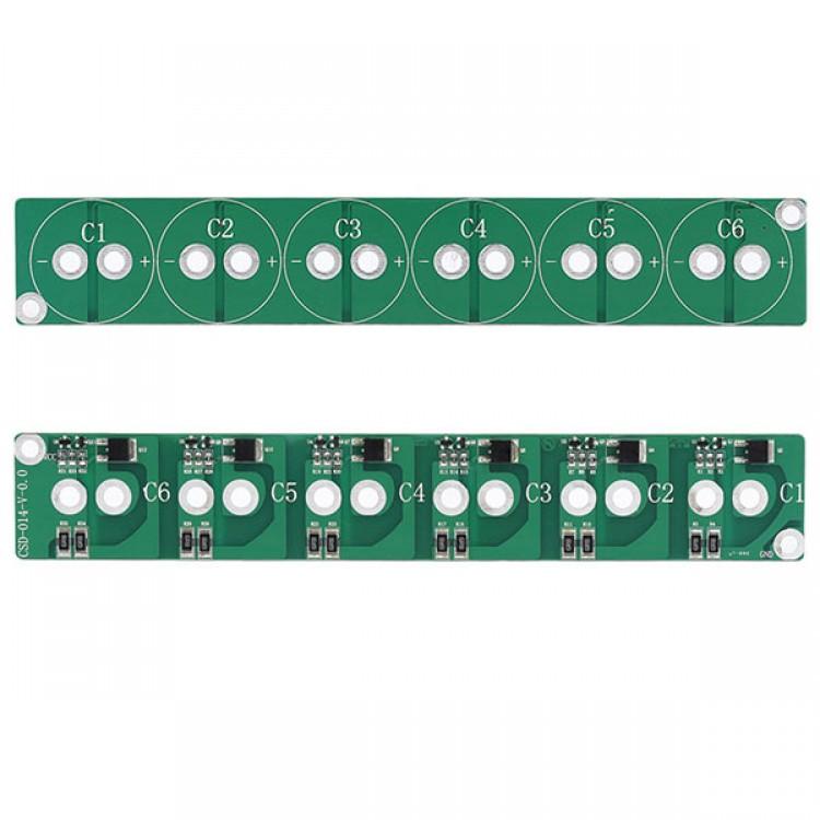 6 String 2 5V 700F Super Capacitor Protection Boards Balancing Board