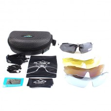 Bicycle Driving Glasses Outdoor Sport Sunglasses 5 Lens w/ Polarized Light