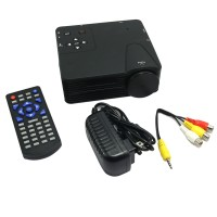 LZ-H100TV LCD Display Technology Projector Home Cinema Theater Multimedia HD 1080P AV TV VGA HDMI BN