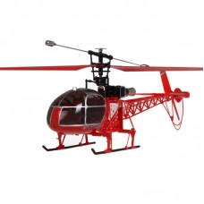 WLtoys V915 2.4G 4CH Scale Lama Flybarless CP RC Helicopter RTF 3D Gyroscope