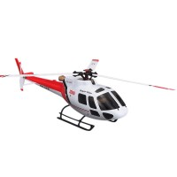 WLtoys V931 6CH Brushless AS350 Scale Flybarless RC Helicopter 3D Full Flight