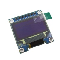 """SPI 0.96"""" Inch Yellow and Blue I2C IIC Serial 128*64 OLED LCD LED Display Module for Arduino 51 MSP420 STIM32 SCR"""