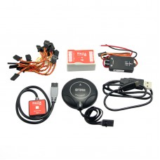 7H HMC5883L GPS Compass Module + DJI Naza-M Lite Flight Control w/ LED & PMU Module