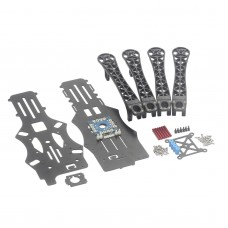 F450 Glass Fiber Quadcopter Frame Kits w/ Damper Board for Multicopter FPV Photography