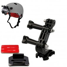 Helmet Syntropy Extension Fixation Holder for Xiaoyi Gopro Hero4 3+ 3